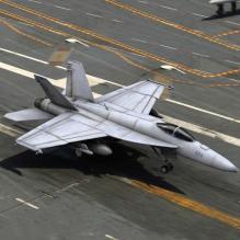 F-18'大黄蜂'式战斗机