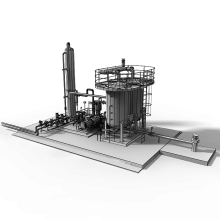油气回收站-室外建筑-工业_厂房-CG模型-3D城