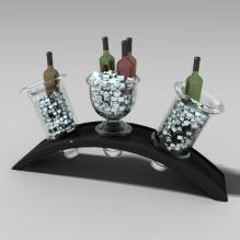 置酒架-食品-饮料-CG模型-3D城