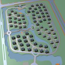 居住区-室外建筑-住宅-CG模型-3D城