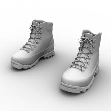 Hiking鞋-生活办公用品-服装饰品-CG模型-3D城