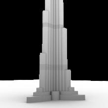 迪拜塔-室外建筑-商业_办公-CG模型-3D城
