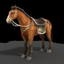 诛仙小马-动物-哺乳动物-CG模型-3D城