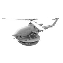 16115 直升机-飞机-军事飞机-CG模型-3D城