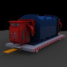 移动变电站-工业设备-机器设备-CG模型-3D城
