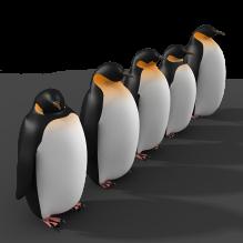 企鹅-动物-哺乳动物-CG模型-3D城