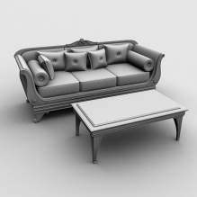 家具-家居-桌椅-CG模型-3D城