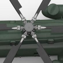 直-8直升机-飞机-直升机-CG模型-3D城