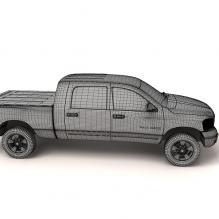 车-汽车-卡车-CG模型-3D城