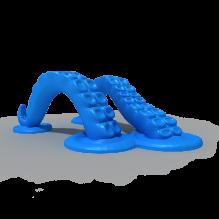 章鱼触角平板电脑支架-小工具-3D打印模型-3D城