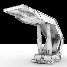 支架-工业设备-机器设备-CG模型-3D城
