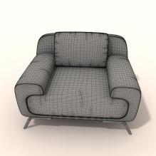 沙发 -家居-沙发-CG模型-3D城