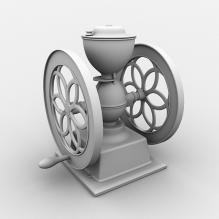 研磨机-工业设备-工具-CG模型-3D城