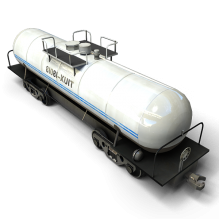 火车罐-汽车-火车-CG模型-3D城