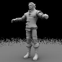 巫师2国王刺客-人物_角色-男人-CG模型-3D城