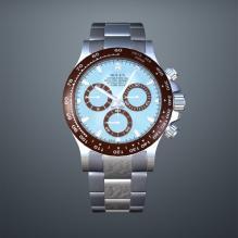 劳力士迪通拿手表3D模型