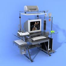 标准办公设备-生活办公用品-办公用品-CG模型-3D城