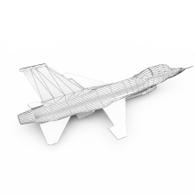 F16战斗机-飞机-军事飞机-CG模型-3D城