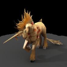 独角兽-动物-科幻-CG模型-3D城