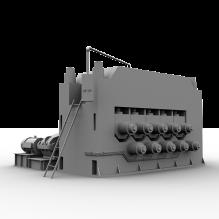 型材矫直机-工业设备-机器设备-CG模型-3D城