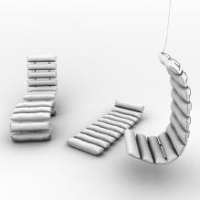 现代椅子-家居-桌椅-CG模型-3D城