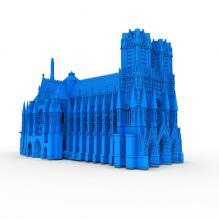 教堂3d打印模型-袖珍_收藏-3D打印模型-3D城