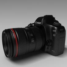 佳能单反相机5D-电子产品-其它-CG模型-3D城