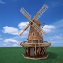 荷兰大风车