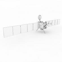 """美国""""罗塞塔""""(Rosetta)号彗星轨道卫星-科技医疗-航天卫星-CG模型-3D城"""