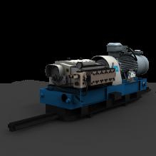 1号乳化泵-工业设备-机器设备-CG模型-3D城