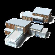 建筑-室外建筑-住宅-CG模型-3D城