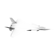 16127 完美歼20战斗机-飞机-军事飞机-CG模型-3D城