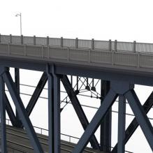 钱塘江大桥-室外建筑-基础设施-CG模型-3D城