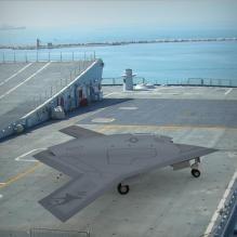 x-47b无人战斗机-飞机-军事飞机-CG模型-3D城