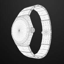 欧米茄38毫米同轴腕表-电子产品-CG模型-3D城