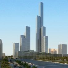 建筑 -室外建筑-基础设施-CG模型-3D城