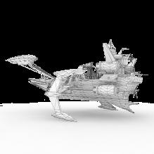 无尽华丽之天空战记飞船-飞机-私人飞机-CG模型-3D城