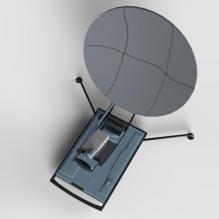 军用便携式雷达-军事_武器-其它-CG模型-3D城
