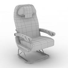 A380飞机座椅-家居-桌椅-CG模型-3D城