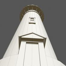 灯塔-室外建筑-基础设施-CG模型-3D城