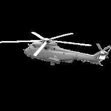 直升飞机-科技医疗-航天卫星-CG模型-3D城